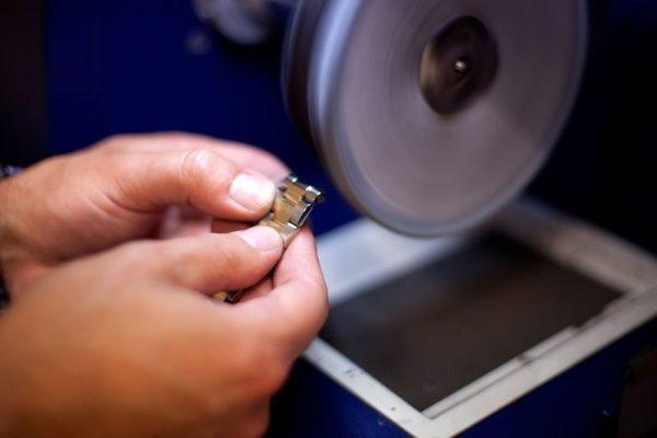Rolex polishing