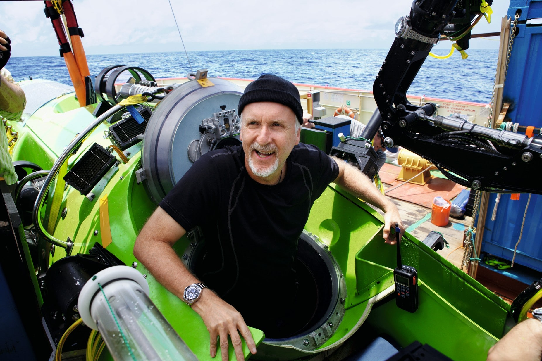 Rolex deepsea james cameron
