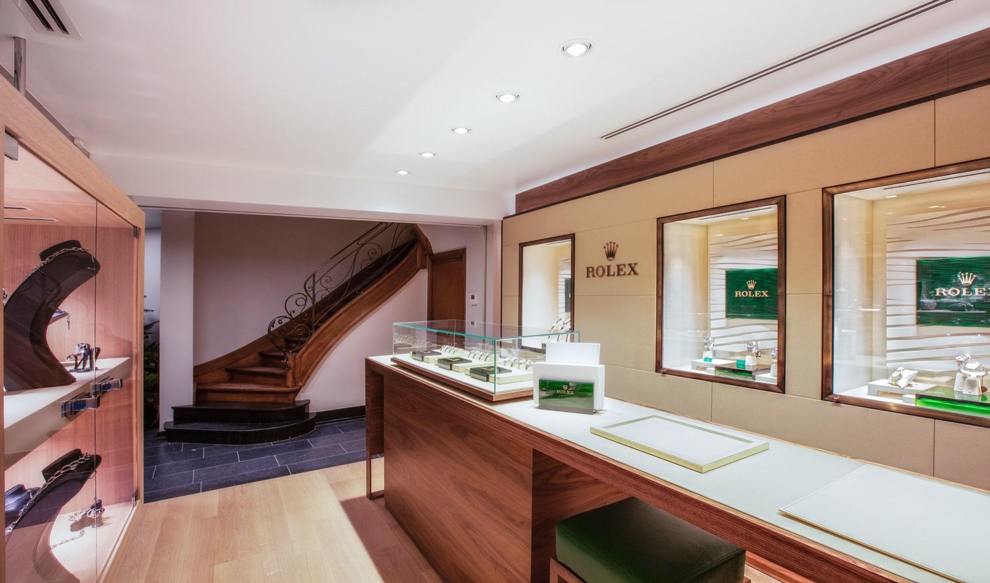 Rolex boutique experience