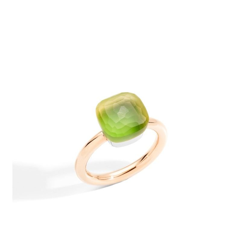 Ring nudo gelé
